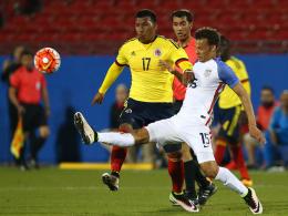Kolumbiens Doppeltorschütze Roger Martinez