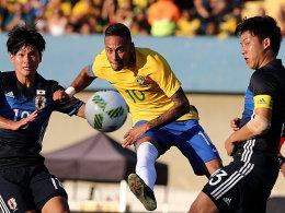 Brasilien besteht die olympische Generalprobe