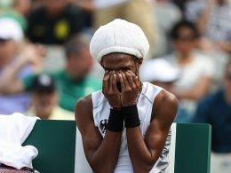 Bei Brown fließen Tränen - Kerber mühevoll - Doppel ausgeschieden