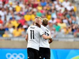 10:0! Gnabry, Petersen & Meyer st�rmen ins Viertelfinale