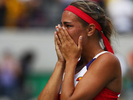 Mit Glauben und für ihr Land: Puig im Tennis-Finale