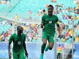 Nigeria fordert DFB-Elf - Hrubesch: