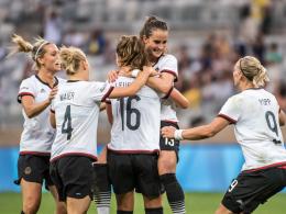 DFB-Frauen erstmals im Olympia-Finale