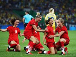 Neids Kr�nung: DFB-Frauen gewinnen Gold