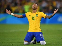 Neymar l�sst Deutschlands Gold-Traum platzen