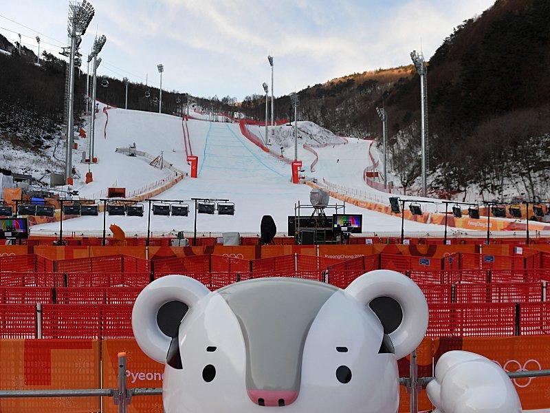 Nach Herren-Abfahrt auch Olympia-Riesenslalom der Damen abgesagt