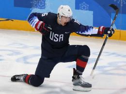 Donato schießt die USA zum ersten Sieg