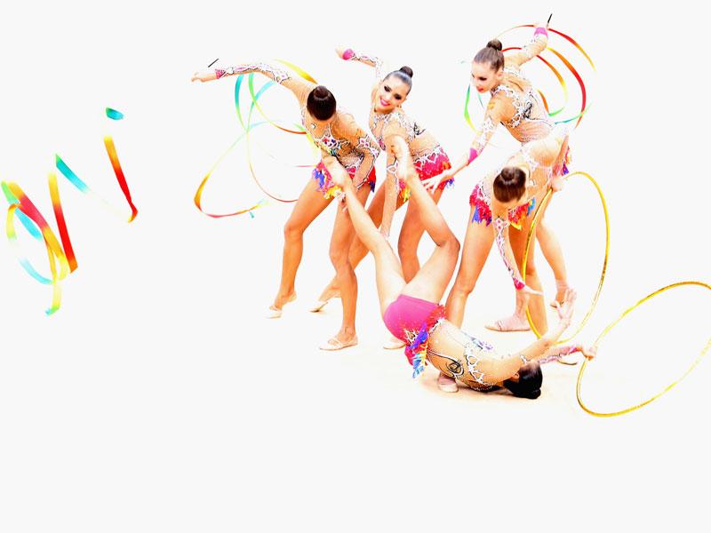 Russische Gymnastinnen