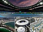 Bunt, rund und mit Meerblick: Sportstätten bei Olympia