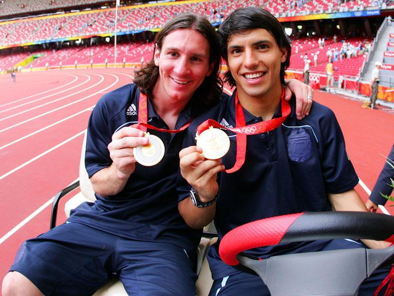 Guardiola, Messi, Pirlo: Olympische Medaillengewinner