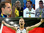 Leere, Pfiffe, Teamwork: Olympische Tops und Flops