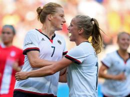 Deutsche Frauen erstmals im Finale von Olympia!