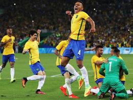 Gold für Brasilien: Maracana explodiert dank Neymar!