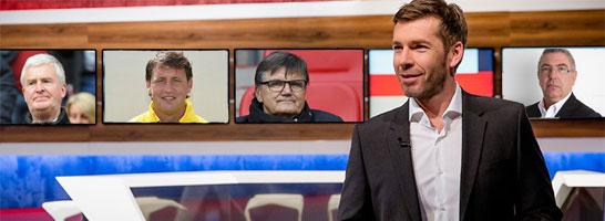 Marco Hagemann und seine G�ste erwarten Sie: Einschalten am Montag um 20.15 Uhr auf Eurosport und bei kicker.de.