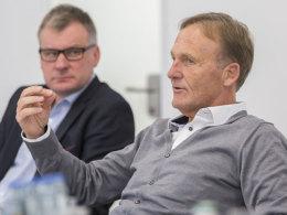 Zu Gast im Talk: BVB-Boss Watzke