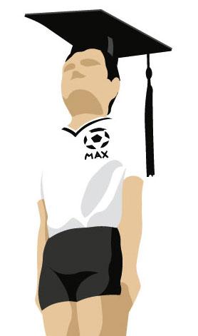 Der Max - die Trophäe für den Sieger.