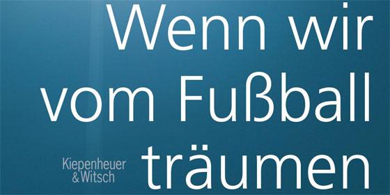 """Cover """"Wenn wir vom Fu�ball tr�"""