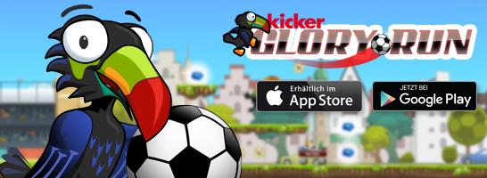 kicker Glory Run : Schnapp dir den Pott!