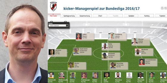 Managerspiel Kicker