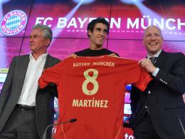 Nach Saisonbeginn in die Bundesliga gewechselt: Bayern Münchens Javi Martinez.