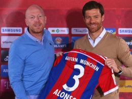 Nach Saisonbeginn in die Bundesliga gewechselt: Bayern Münchens Xabi Alonso.