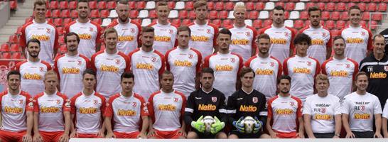 Wieder im Managerspiel dabei: Drittliga-Aufsteiger Jahn Regensburg.