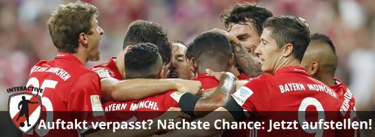 Super Start: Die Bayern holten zum Auftakt die meisten Punkte im Managerspiel.