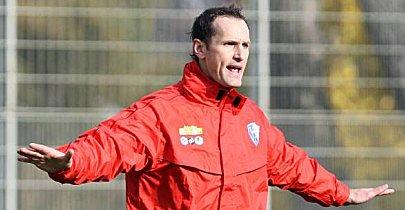 Erstmals in der Bundesliga auf der Trainerbank: Bochums neuer Coach Heiko Herrlich.