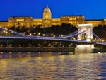 Budapest bei Nacht.