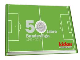 """kicker-Buch """"50 Jahre Bundesliga"""""""