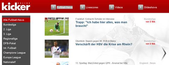 Net TV-Startseite