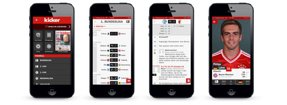 kicker iPhone App