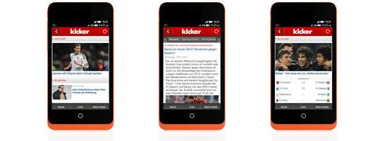 kicker Firefox App