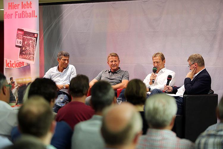 Stuttgarter Stars in bester Laune