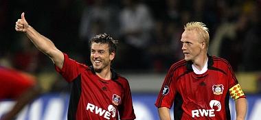 Schneider und Ramelow freuen sich über den Sieg