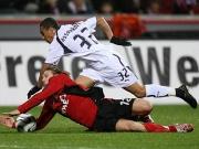 Voronin konnte sich mit Bayer nicht gegen die kompakte Tottenham-Abwehr um Ekotto durchsetzen.