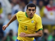"""Nicht mehr """"Welklasse"""", aber immer noch die Nummer eins: Bayern Münchens brasilianischer Verteidiger Lucio."""