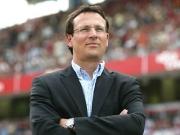Ärgert sich über zu hohe Erwartungen: Club-Sportdirektor Martin Bader.