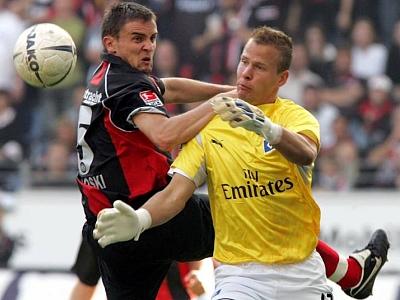 Im Visier englischer Vereine: Frankfurts Vasoski