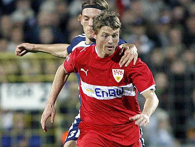 Beim VfB auf dem Abstellgleis: Jon Dahl Tomasson, hier bei einem Pokaleinsatz in Babelsberg.