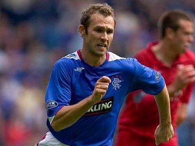 Rangers-Spieler Thomas Buffel.