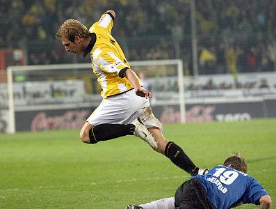 Aus dem Profikader geflogen: Florian Kringe.
