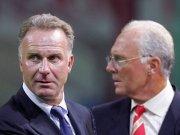 Rummenigge und Beckenbauer