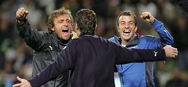 Glücksgefühle: Nach 15 sieglosen Pflichtspielen stoppte der HSV die Negativserie.