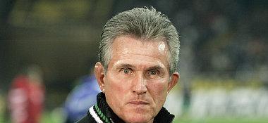 Gladbachs Trainer Jupp Heynckes