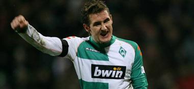 Miroslav Klose beim Torjubel