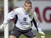 Wird die restlichen Saisonspiele wohl pausieren müssen: Aachens Keeper Stephan Straub.