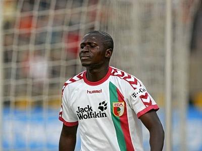 Verletzungspech: FCA-Angreifer Momo Diabang.
