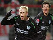Brachte sein Team bei den Sportfreunden auf die Siegerstraße: Fürths Hans Henrik Andreasen.