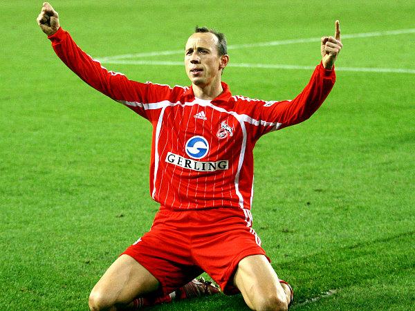 Am ersten beteiligt, das zweite selbst gemacht: Matthias Scherz konnte sich in der ersten Hälfte zu Recht feiern lassen.